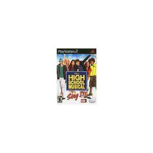 Game High School Musical: Sing it! PS2