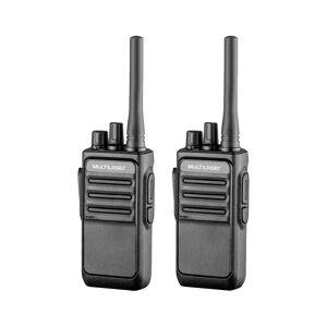 Multilaser Rádio Comunicador Walkie Talkie Multilaser RE020 16 Canais Preto
