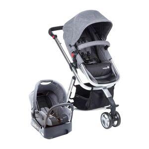 Carrinho Com Bebê Conforto Mobi TS Cinza CAX90258 Safety 1st