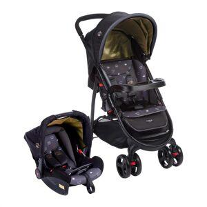Cosco Carrinho De Bebê Travel System Nexus Até 15kg Preto Cosco