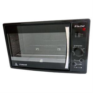 Safanelli Forno Elétrico Du Chef 45 Litros 1750W Preto Safanelli