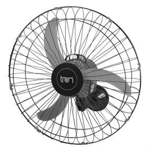Tron Ventilador De Parede Oscilante Tron C1 60Cm 140W Preto
