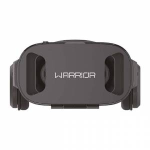 Warrior Óculos De Realidade Virtual 3D Warrior JS086 Com Headphone Preto