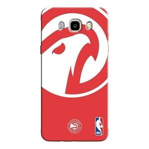Capinha para Celular NBA - Samsung Galaxy J5 2016 - Atlanta Hawks - D01 - Unissex  - Vermelho