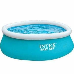 Piscina Inflvel Easy Set 886L Intex - Unissex  - Azul