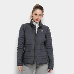 Jaqueta Adidas Varilite Soft Feminina - Feminino  - Chumbo