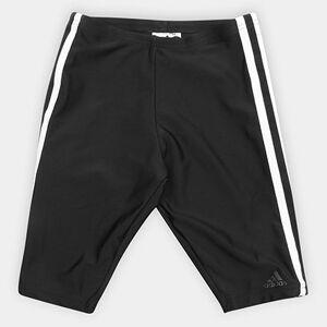 Short Adidas Infantil Fitness 3 Stripes Jammer Boys - Masculino  - Preto+Branco