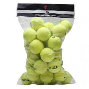 Bola de Tnis Titan Trainning Pacote com 36 Unidades - Unissex  - Verde Limo