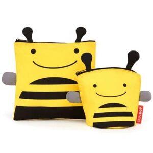 Saquinhos de Lanche Skip Hop Zoo Abelha - Unissex  - Amarelo