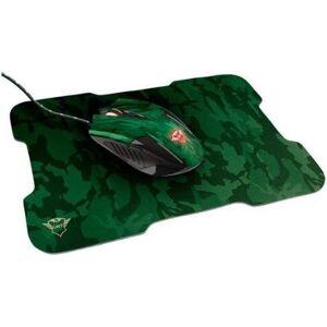 Mouse Gamer Trust ptico 3200DPI 6 Botes - GXT 781 Rixa com Mouse Pad - Unissex  - Verde