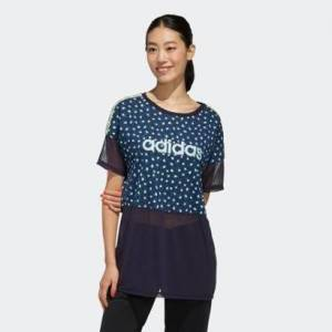 Camiseta Adidas Farm Rio  Feminina - Feminino  - Azul