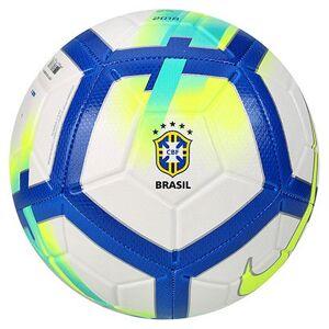 Bola Campo CBF Nike Strike - Unissex  - Branco+Azul