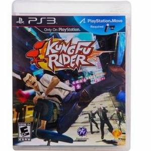 Game Ps3 Kung Fu Rider - Unissex  - Incolor