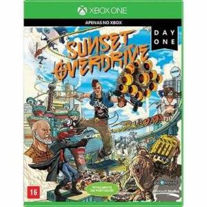 Game Xbox One Sunset Overdrive Day One - Unissex  - Incolor