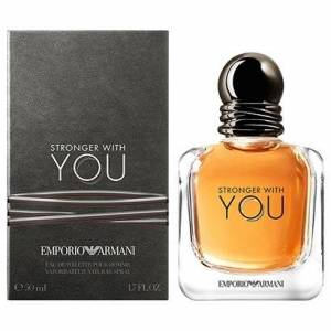 Perfume Stronger with You Masculino Giorgio Armani EDT 50ml - Masculino-Incolor
