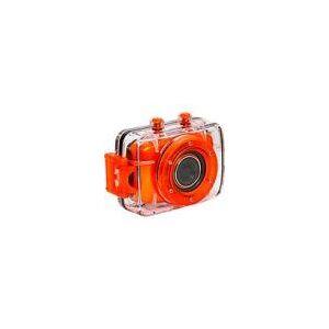 Filmadora Esportiva Vivitar DVR 783HD 720p 5MP Tela 2 LCD - Laranja