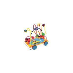 Brinquedo Pedagogico Carrinho Aramado 17X13X14,5CM