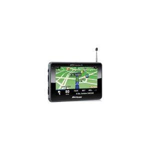 GPS Multilaser GP012 Tracker 2 Tela 4,3 - TV Digital, Função TTS (fala o nome das ruas)