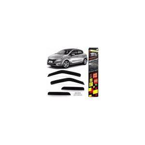 Calha de Chuva TG Poli Peugeot 208 Hatch 13/... 4 Portas