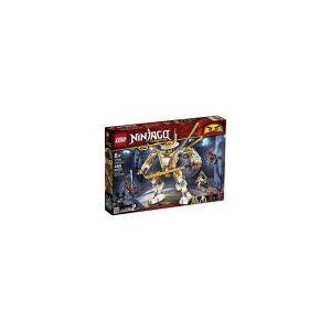 Lego 71702 Ninjago Robô Dourado 489 peças