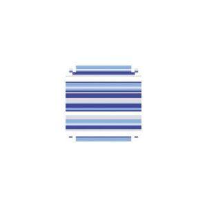 Papel Presente Bobina Couche 60CM. MOD.345 Listrado azul