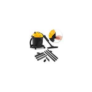 Aspirador de Pó Vonder APV1218 18 Litros 1200W 127V Sólidos e Líquidos Reservatório Preto e Amarelo