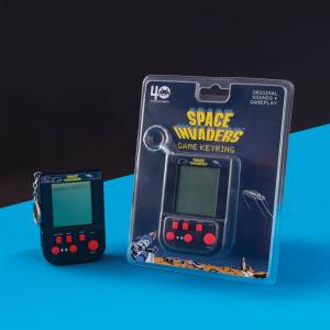 Fizz Creations Space Invaders Game Keyring