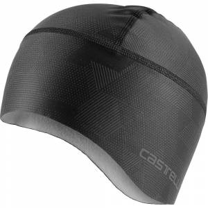 Castelli Pro Thermal Skully  - One Size - Light Black