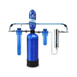 Aquasana Rhino Whole House Well Water Filter System with UV Filter 5 Year/500,000 Gallon Removes 99% of Bacteria & Viruses Aquasana