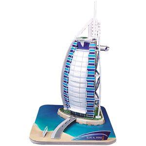 """Playtastic Faszinierendes 3D-Puzzle """"Burj al Arab Dubai"""", 44 Puzzle-Teile"""