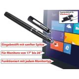 """GeneralKeys Touch-Pen für Monitore 17"""" bis 26"""", für Windows 8 und Apps"""