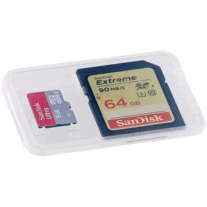 Merox Speicherkartenbox für SD-, miniSD-, microSD- und MMC-Speicherkarten