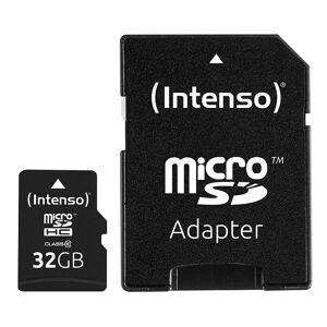 Intenso microSDHC-Speicherkarte 32 GB, Class 10, inkl. SD-Adapter