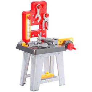Playtastic Mini-Werkbank mit Werkzeugset, Höhe 60 cm, 30 Teile
