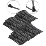 AGT 400er-Set wiederverschließbare Kabelbinder, 200 x 7,6 mm