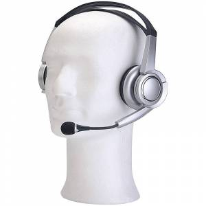 auvisio USB-Stereo-Headset mit Virtual-5.1-Surround-Sound, Over-Ear