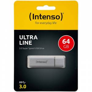 Intenso Ultra Line 64 GB Speicherstick USB 3.0 silber