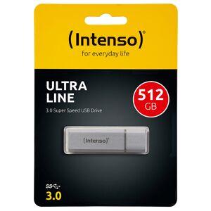 Intenso Ultra Line USB-3.0-Speicherstick mit 512 GB, silber