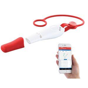 HelpID Notruf-Taster & Alarmpfeife, Standort-Übermittlung an 3 Kontakte, App