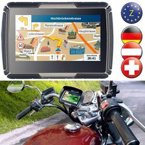 NavGear TourMate N4, Motorrad-, Kfz- & Outdoor-Navi mit Zentral-Europa