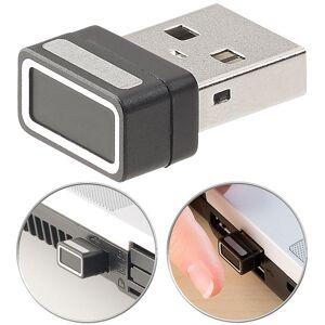 Xystec Kleiner USB-Fingerabdruck-Scanner für Windows 10, 10 Profile