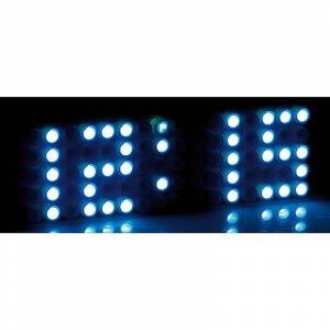 "infactory LED-Designer-Wecker ""Blue 24"""