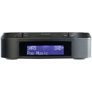 VR-Radio Digitaler Radiowecker mit DAB+ & UKW-Empfang, 10 Stations-Speicher