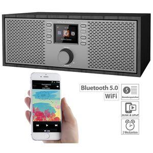 VR-Radio Stereo-WLAN-Internetradio mit Farb-Display, 12 Watt, Bluetooth 5, App