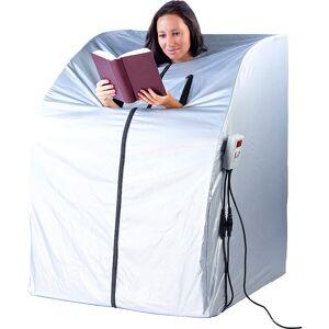 newgen medicals Portable Infrarot-Sauna V2 mit 2 Heizern, 1600 Watt