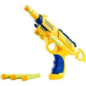 Playtastic Leichte Spielzeugpistole mit 6 Schaumstoffgeschossen