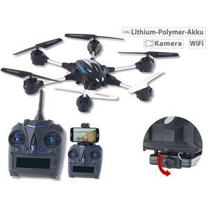 Simulus Hexacopter GH-50.cam mit VGA-Kamera & Live-View per WLAN, 2,4 GHz, App