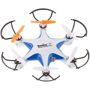 Simulus Mini-Hexacopter m. 6-Kanal-Funk-Fernsteuerung (2,4 GHz), 6-Achsen-Gyro