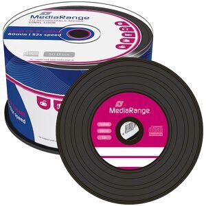 MediaRange Vinyl-Look CD-R 700MB/80Min, 52x, 50er-Spindel