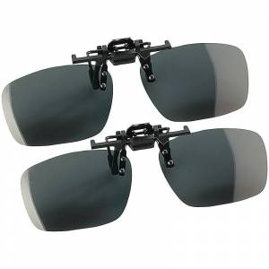 """Speeron 2er-Set Sonnenbrillen-Clips """"Fashion"""" für Brillenträger, polarisiert"""